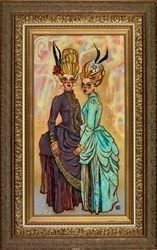 The Gilded Cage by Todd White -  sized 19x37 inches. Available from Whitewall Galleries